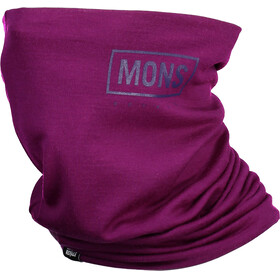 Mons Royale Double Up Neckwarmer Pinot